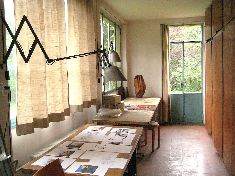 Im Atelier, Foto: Claudio Bader