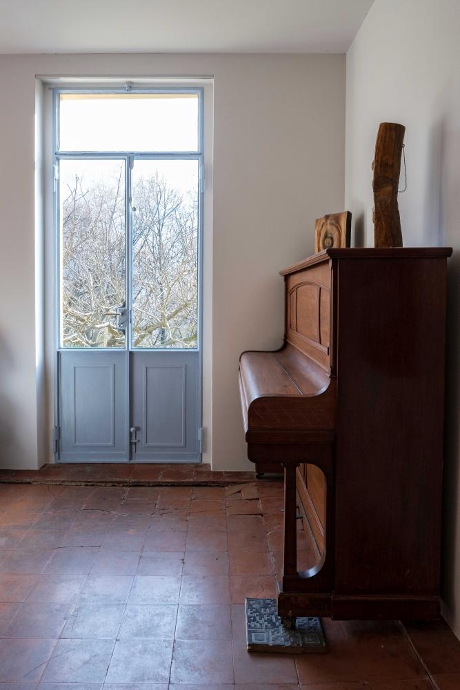 Im Wohnzimmer, Foto: Claudio Bader