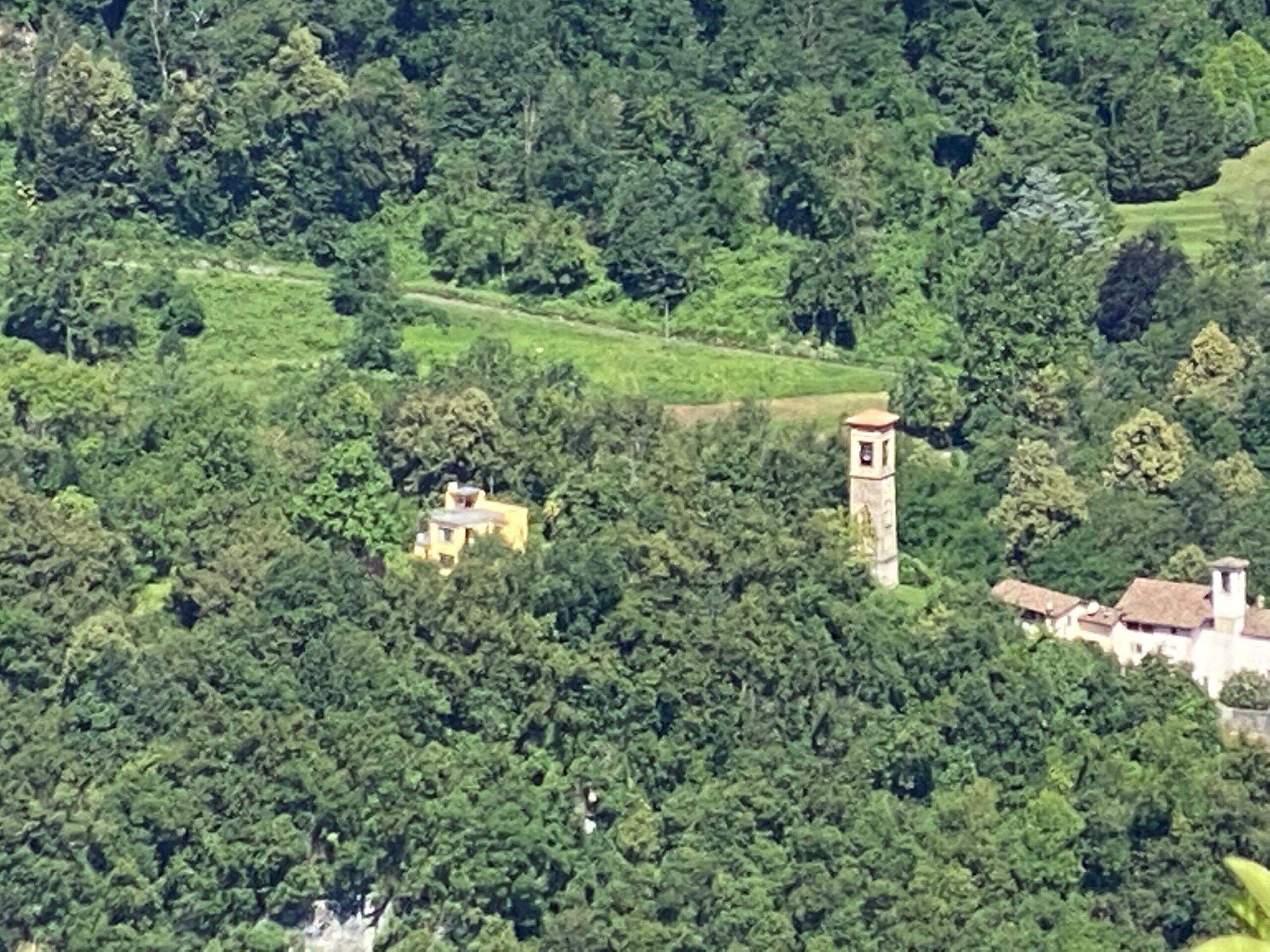 Casa Sciaredo von Torcello aus gesehen. Foto: Fraenzi Neuhaus, 2020